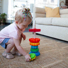 Fat Brain Toys Spin Again Stacking Toy 2