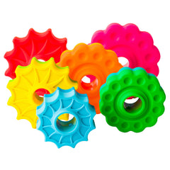 Fat Brain Toys Spin Again Stacking Toy Rings