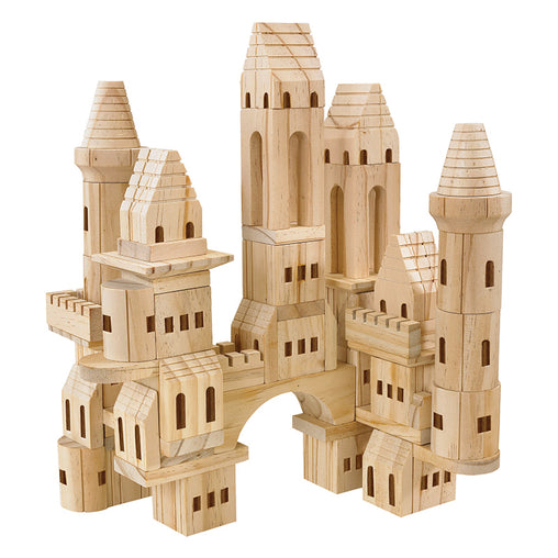 FAO Schwarz Wooden Castle Blocks