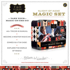 FAO Schwarz Kids Magic Set List