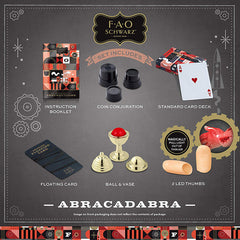 FAO Schwarz Kids Magic Set Contents