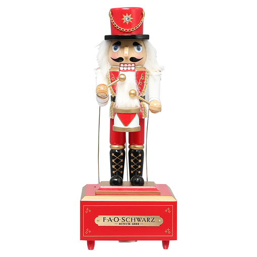 FAO Schwarz Nutcracker Prince Wooden Musical Toy