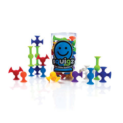Fat Brain Toy Co Squigz 24 Construction Starter 3