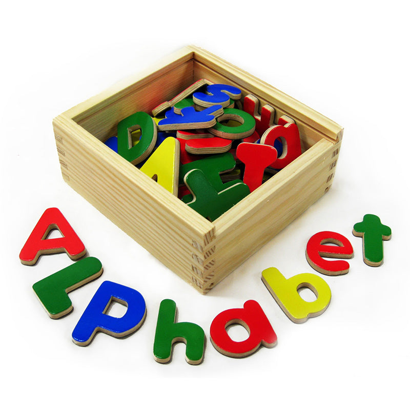 Fun Factory Magnetic Alphabet Letters