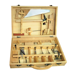Fun Factory Metal & Wooden Tool Set in Case 16 Piece Contents