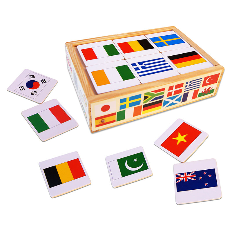 Fun Factory World Flag Memory Game