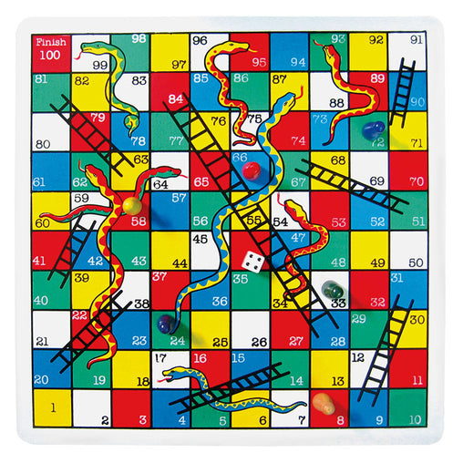 Fun Factory Snakes & Ladders Game