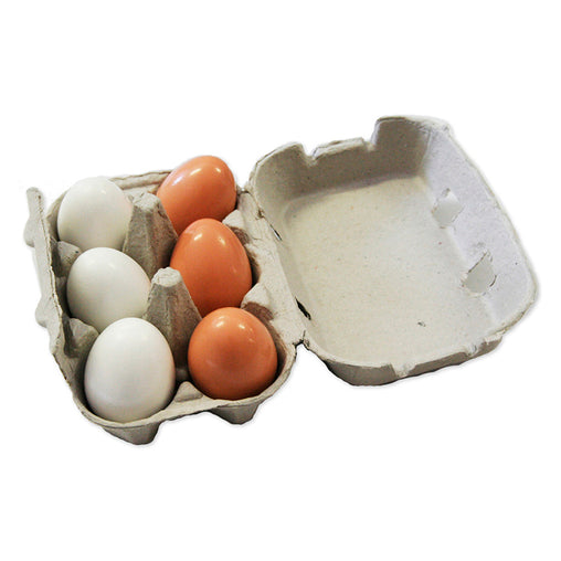 Fun Factory Wooden Play Food Eggs