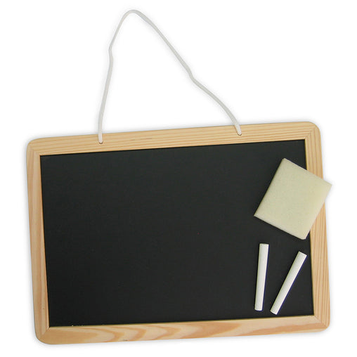 Fun Factory Blackboard with Chalk and Duster