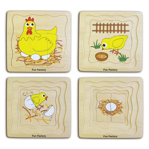 Fun Factory Layered Puzzle Chicken