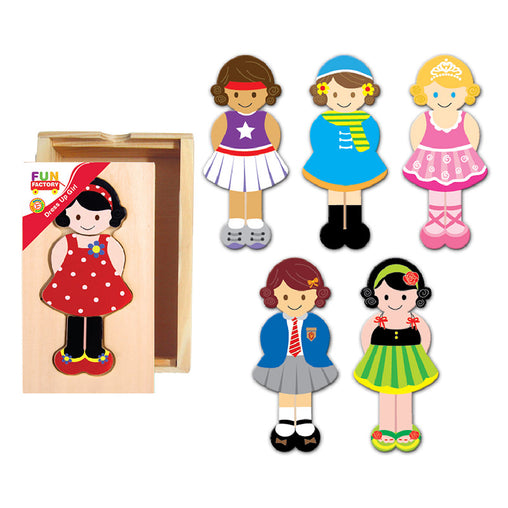 Fun Factory Dress up Puzzle Girl