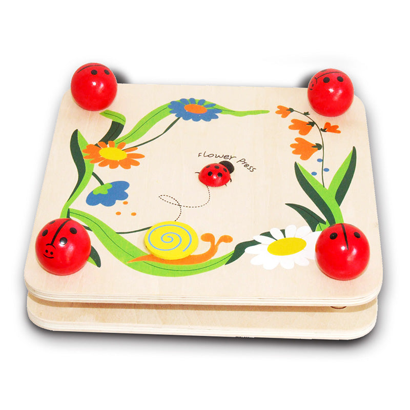 Fun Factory Flower Press Ladybug