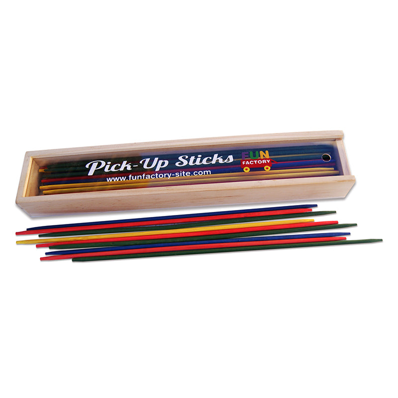 Fun Factory Wooden Pick-up Sticks Game