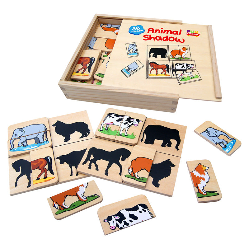 Fun Factory Animal Shadow Game