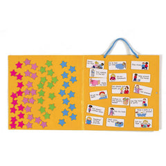 Fiesta Crafts Magnetic Star Chart Open