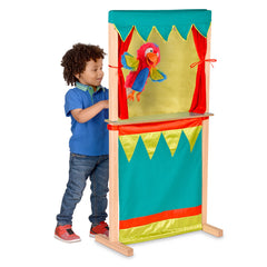Fiesta Crafts Tellatale Puppet Theatre and Shop Front with Boy