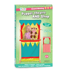 Fiesta Crafts Tellatale Puppet Theatre and Shop Front Packaging