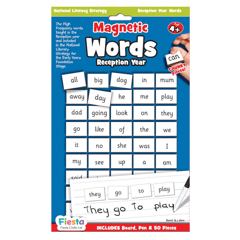 Fiesta Crafts Magnetic Words Reception Year Packaging