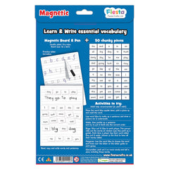 Fiesta Crafts Magnetic Words Reception Year Back Packaging