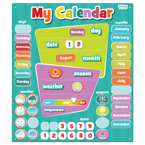 Fiesta Crafts Magnetic My Calendar