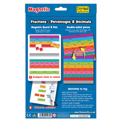 Fiesta Crafts Magnetic Fractions Back Packaging