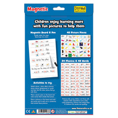 Fiesta Crafts Magnetic Phonics Back Cover