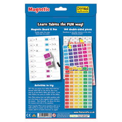 Fiesta Crafts Magnetic Times Tables Back Packaging