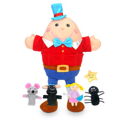 Fiesta Crafts Nursery Rhymes Hand and Finger Puppet Set 2
