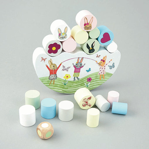 Floss & Rock Bunny Balancing Game