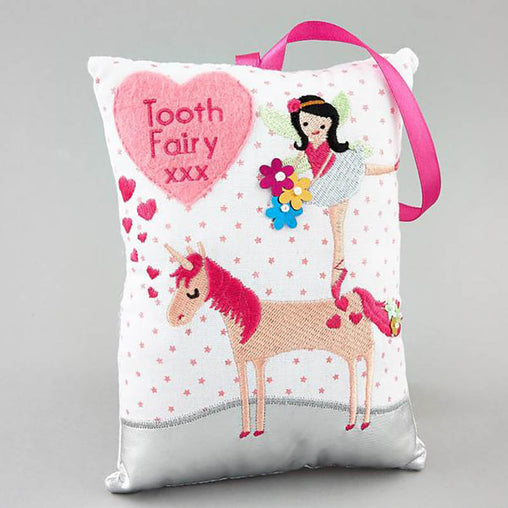 Floss & Rock Tooth Fairy Cushion