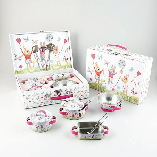 Floss & Rock 9 Piece Bunny Kitchen Set