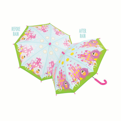 Floss & Rock Princess Colour Changing Umbrella