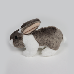 Folkmanis Mini Rabbit Finger Puppet Side View