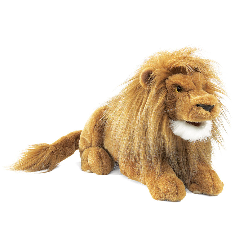 Folkmanis Lion Hand Puppet