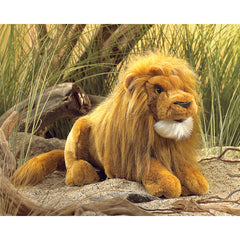 Folkmanis Lion Hand Puppet Jungle