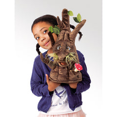 Folkmanis Enchanted Tree Hand Puppet with Girl