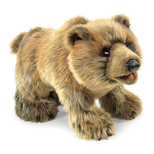 Folkmanis Grizzly Bear Hand Puppet