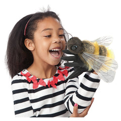 Folkmanis Honey Bee Hand Puppet Girl