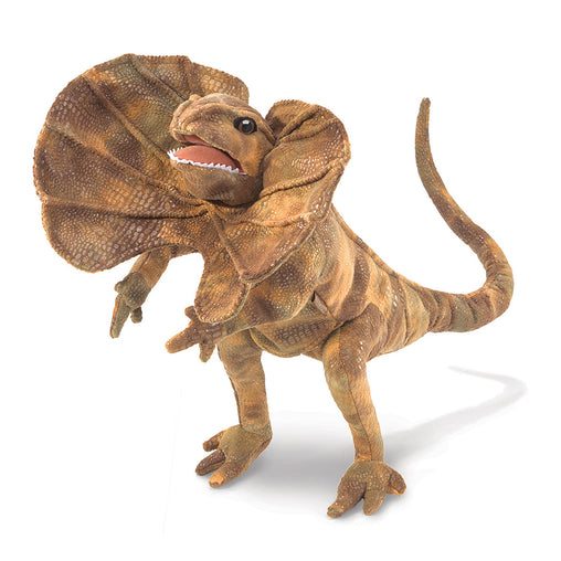 Folkmanis Frilled Neck Lizard Hand Puppet