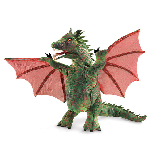 Folkmanis Winged Dragon Hand Puppet