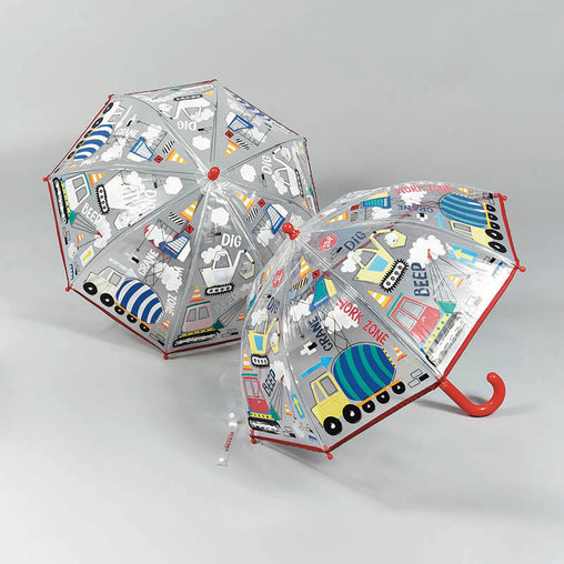 Floss & Rock Construction Colour Changing Umbrella