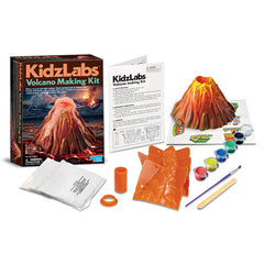 4M Kidzlabs Volcano Making Kit Contents