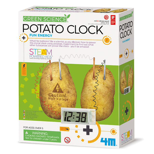 4M Potato Clock Science Kit Box