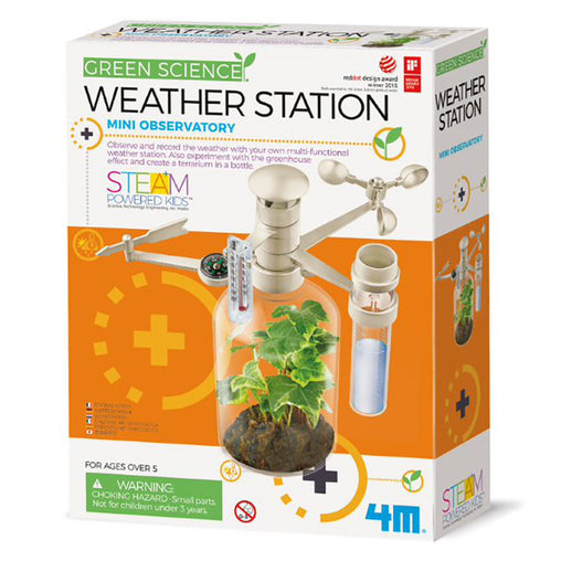 4M Green Science Weather Station Box