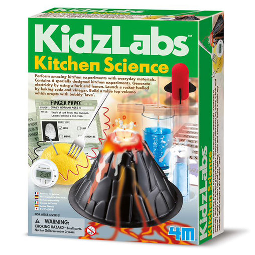 4M Kidzlabs Kitchen Science Box