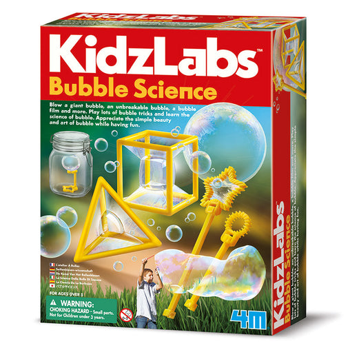 4M Kidzlabs Bubble Science Box