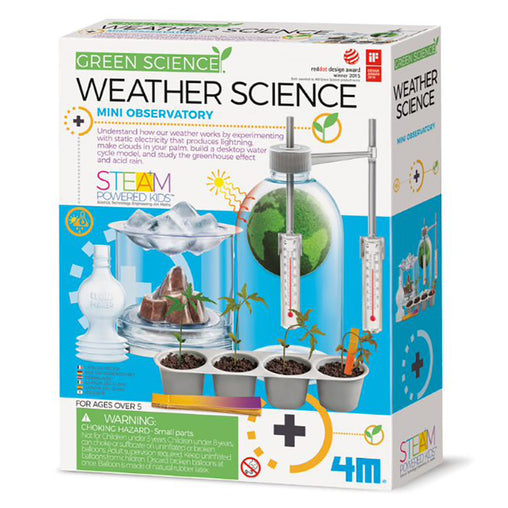 4M Green Science Weather Science Box
