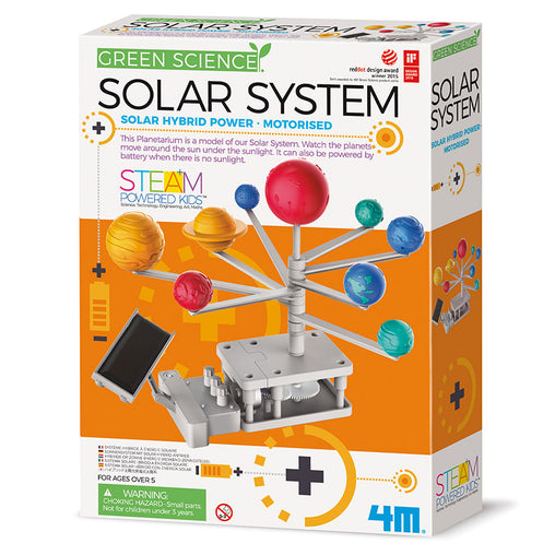 4M Green Science Solar System Box