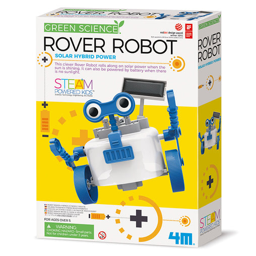 4M Green Science Rover Robot Box