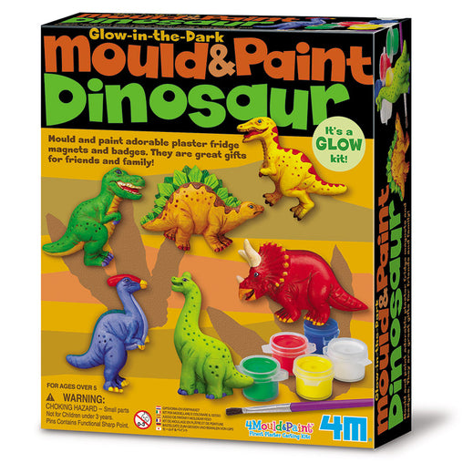 4M Mould and Paint Craft Kit - Dinosaurs